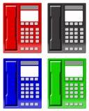 Telefoons vector illustratie