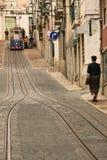 Teleférico (Elevador) em Lisboa Imagens de Stock Royalty Free