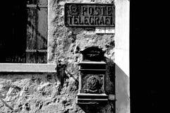 Telegrafi della posta e Fotografia Stock