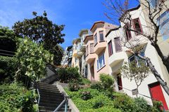 Telegrafkull, San Francisco Arkivfoto