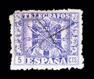 Telegrafos serie, circa 1940 Arkivfoton