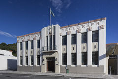 Daily Telegraph Building in Napier Royalty Free Stock Photos