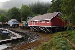 Telegraph Cove, British Columbia, Canada stock image