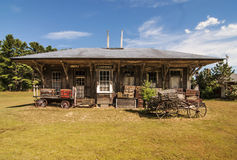 Telegraph station Royalty Free Stock Images