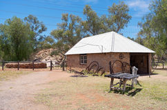 Telegraph Station Shoeing Yard and Building Royalty Free Stock Photography