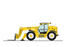 Telehandler Stock Photo