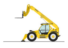 Telehandler Stock Photography