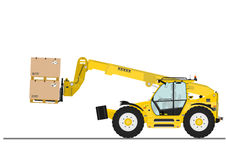 Telehandler Royalty Free Stock Photo