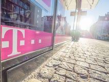 Telekom abstrakt begrepp Royaltyfria Bilder