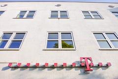 Telekom byggnad Royaltyfri Bild