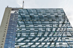 Telekom highrise tower A1 in Graz, Austria. Stock Image