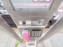 Telekom löntelefon Royaltyfria Bilder