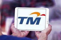 Telekom Malaysia Berhad  , TM , logo. Logo of Telekom Malaysia Berhad  , TM , on samsung tablet. Telekom Malaysia is Malaysia's leading telecommunications Royalty Free Stock Photography