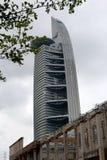 Telekom Malaysia TM ragen hoch Stockfoto