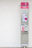 Telekom payphone Stock Photo