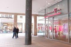 Telekom shop Stock Images