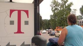 Telekom T stock video