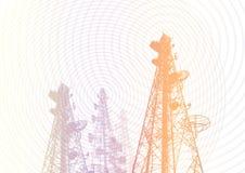 Telekommunikation 01 stock abbildung