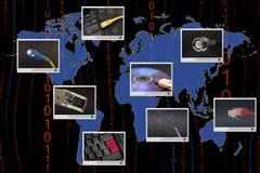 Telekommunikation lizenzfreies stockbild