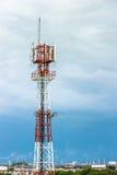 Telekommunikation in der Stadt Lizenzfreie Stockfotografie
