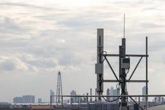 Telekommunikation; Hintergrund; Wissenschaft lizenzfreie stockbilder
