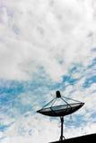 Telekommunikation im Himmel lizenzfreie stockfotos