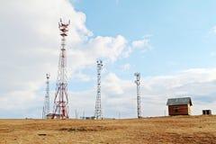 Telekommunikation im weiten Bereich stockfotografie
