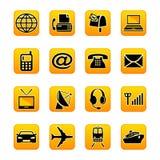 Telekommunikation u. Transport Lizenzfreie Stockfotos