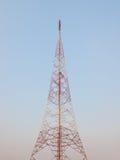 Telekommunikationantenn Arkivfoto