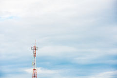 Telekommunikationantenn Royaltyfria Bilder