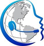 Telekommunikationar royaltyfri illustrationer
