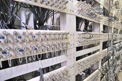 telekommunikationar för nätverksserver Royaltyfri Bild