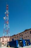 Telekommunikationar Pole royaltyfri foto