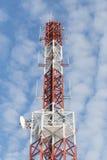 Telekommunikationmast Arkivbild