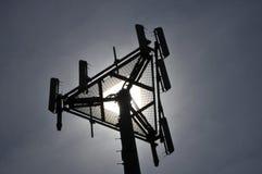 Telekommunikations-Antennen stockfotografie