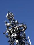 Telekommunikations-Kontrollturm Stockbild