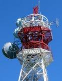 Telekommunikations-Kontrollturm Stockfoto