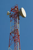 Telekommunikations-Kontrollturm Stockfotografie