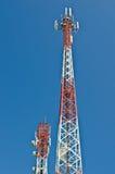 Telekommunikationsantenne. Lizenzfreies Stockbild