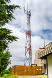 Telekommunikationsantenne Lizenzfreie Stockbilder