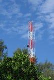 Telekommunikationsausrüstung Stockfotografie