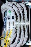 Telekommunikationsgerät in einem datacenter. lizenzfreie stockfotografie