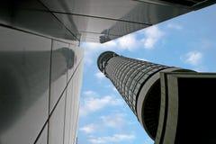 Telekommunikationskontrollturm Stockbild