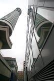 Telekommunikationskontrollturm Stockfoto