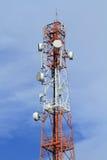 Telekommunikationskontrollturm lizenzfreie stockfotografie