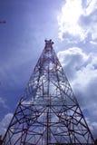 Telekommunikationskontrollturm Lizenzfreies Stockbild