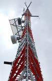 Telekommunikationskontrollturm 3 Stockfoto