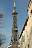 Telekommunikationskontrollturm: die kleine Schwester des Eiffelturms Lizenzfreies Stockbild