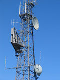 Telekommunikationsmast Stockfoto