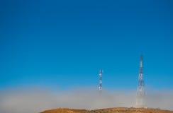 Telekommunikationsmaste Stockbilder
